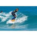 Planche de surf en mousse Paint 8'0 Malibu 2018