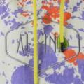 Poncho All-in V Bumpy (Viola Paint Print)