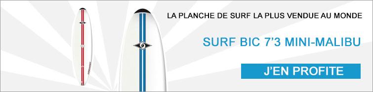 Planche de surf bic 7 3 mini-malibu