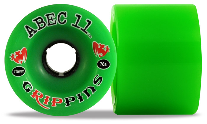 Roues Longskate Abec11 Grippin 70mm 78A