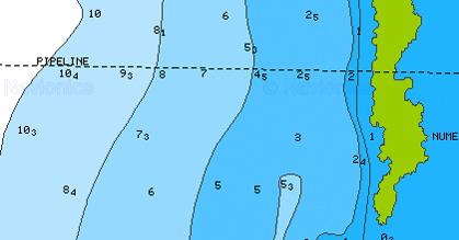 Détails cartes marine navionics