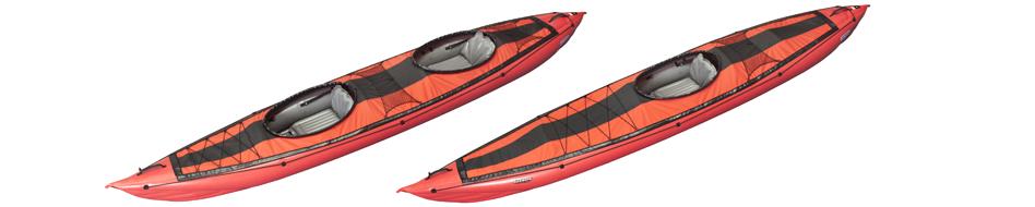 Kayak Seawave ponté