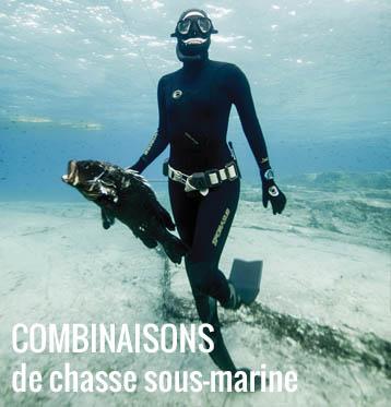 Combinaison de chasse sous-marine