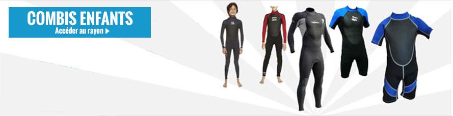 Achat de combinaison de surf enfant