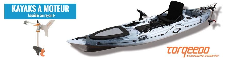 Achat de kayak à moteur