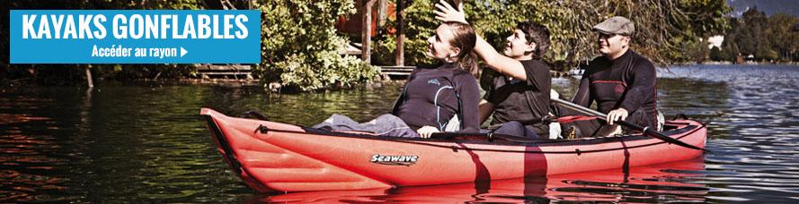 Acheter votre kayak gonflable