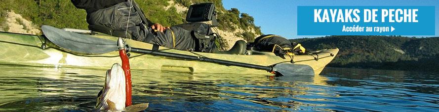 Acheter votre kayak de pêche