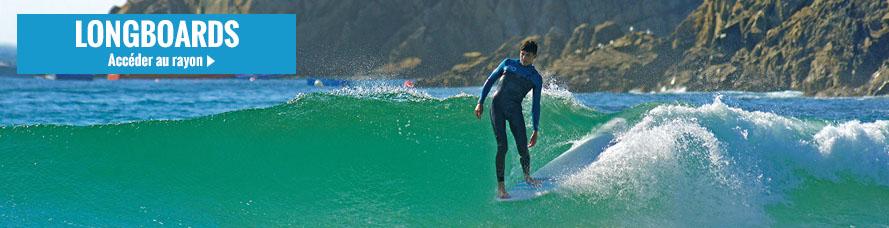 Longbooard pour surfer