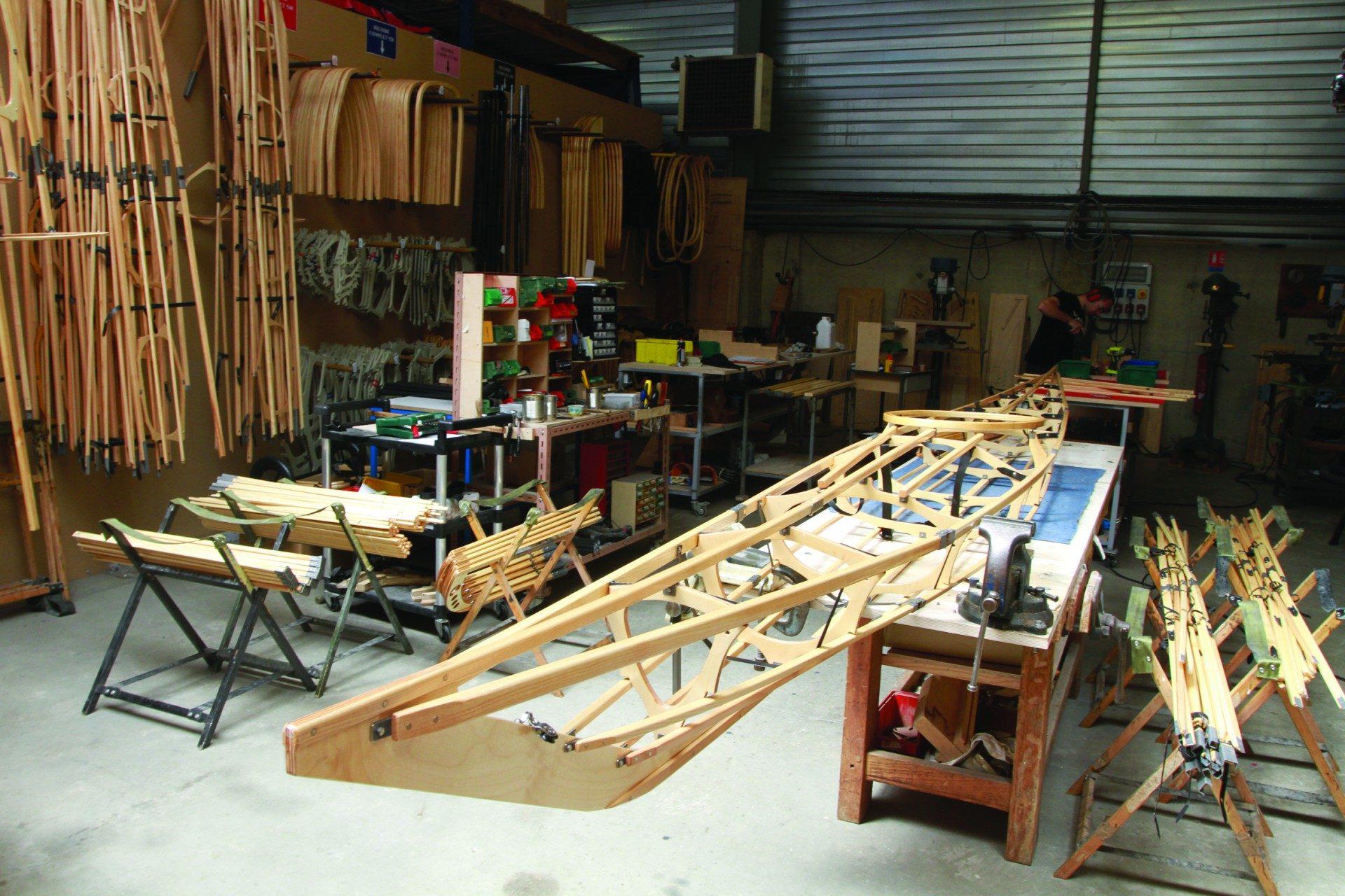 nautiraid bois demontable kayak