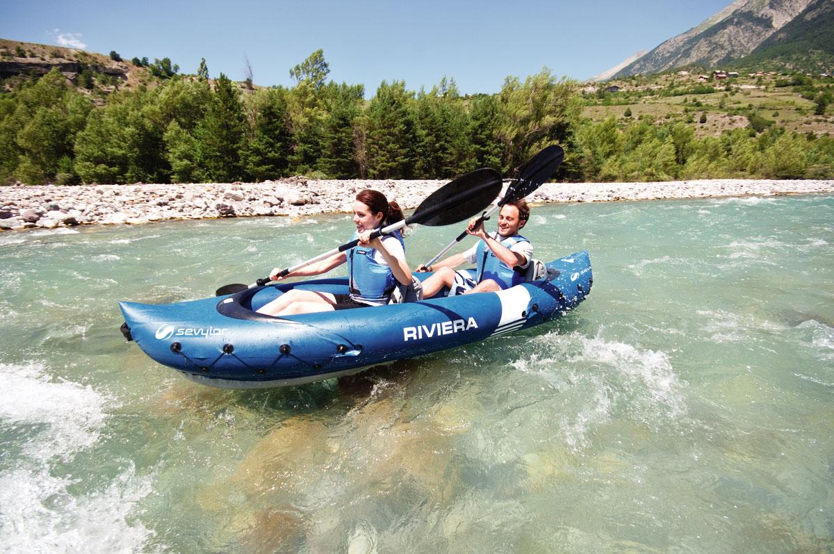 Kayak gonflable sevylor Riviera