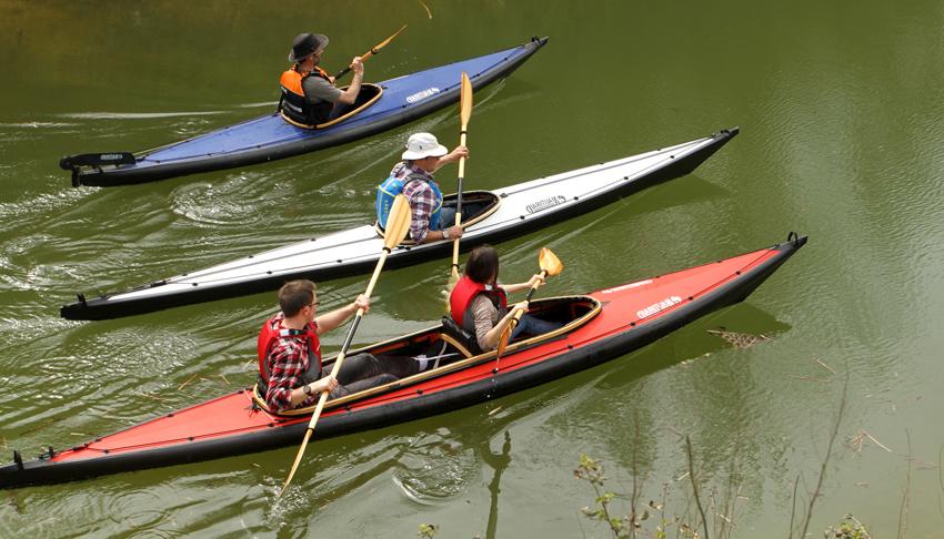nautiraid kayak raid 325 bleu blanc rouge