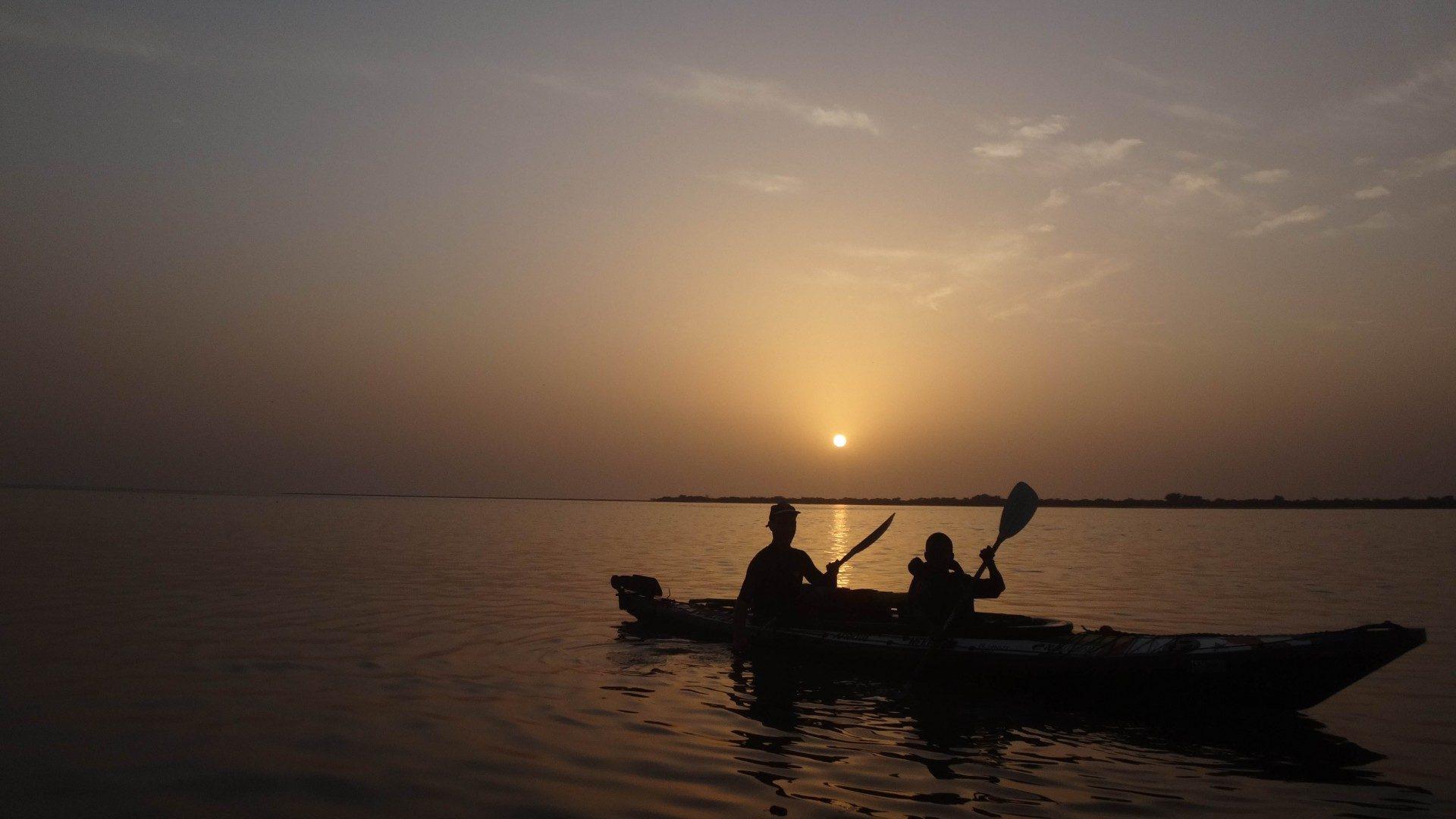 kayak nautiraid mer sunset biplace