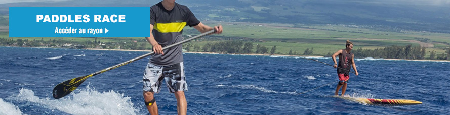 Paddle SUP de Race et paddle de downwind