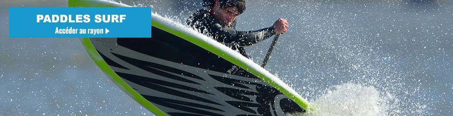 Faire du surf avec un paddle SUP