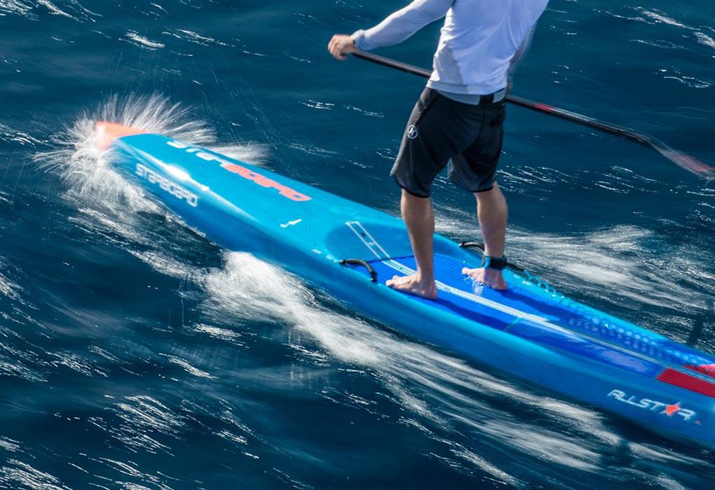 paddle starboard de race