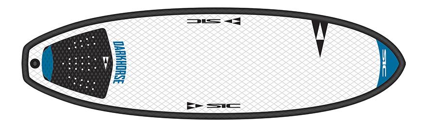 planche de surf SIC Darkhorse 5'8