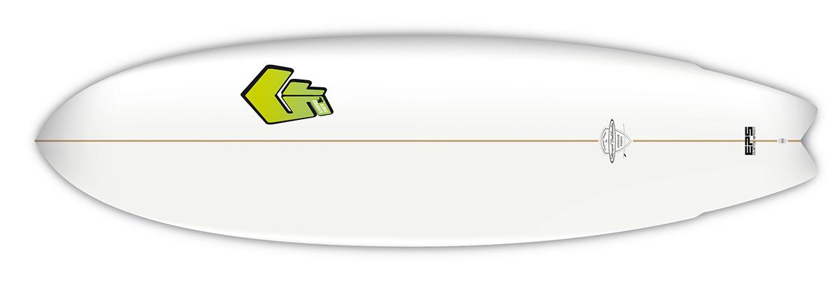 Planche de surf SuperFrog Hydrofish 6'4