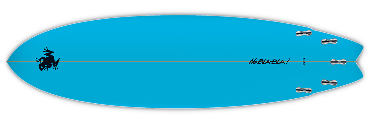 Planche de surf SuperFrog Hydrofish 6'8