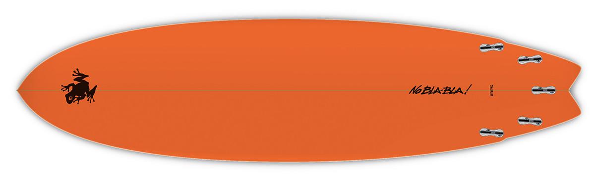 Planche de surf SuperFrog Hydrofish 7'0