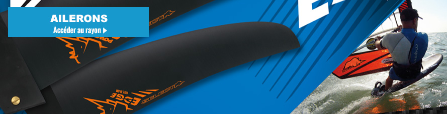 Aileron windsurf et aileron de planche a voile windsurf : aileron select