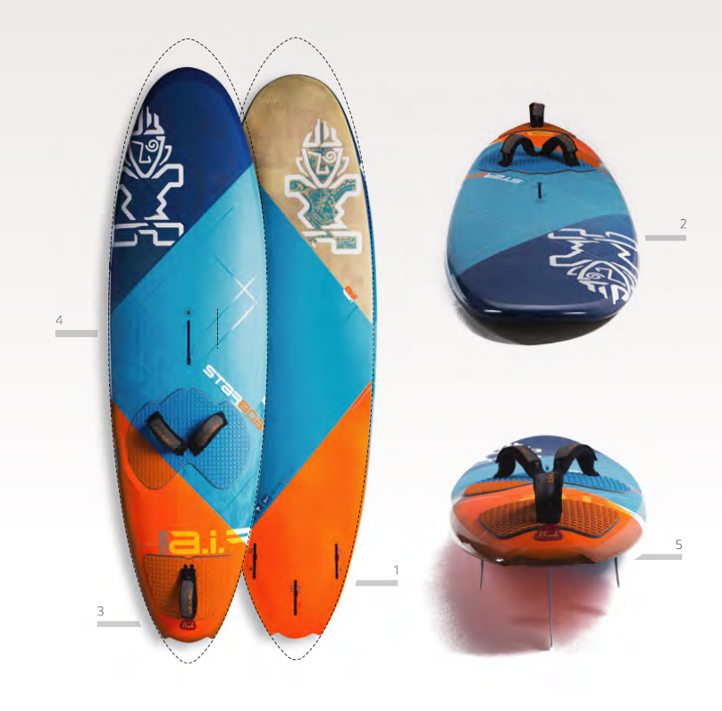 Planche Starboard Air Freewave