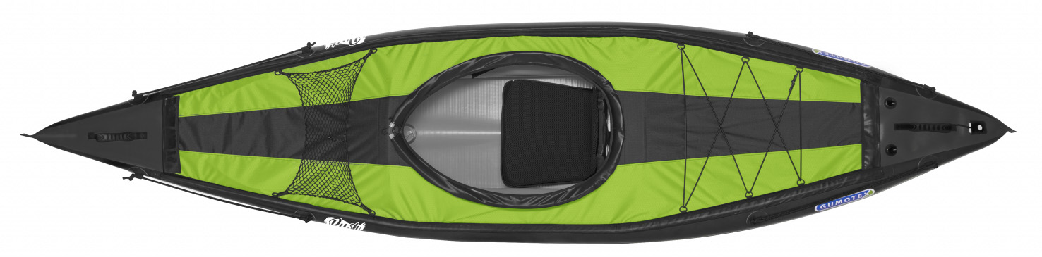 kayak gumotex monoplace rush gonflable dropstitch