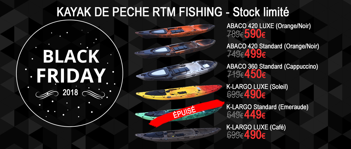 Black Friday Kayak RTM